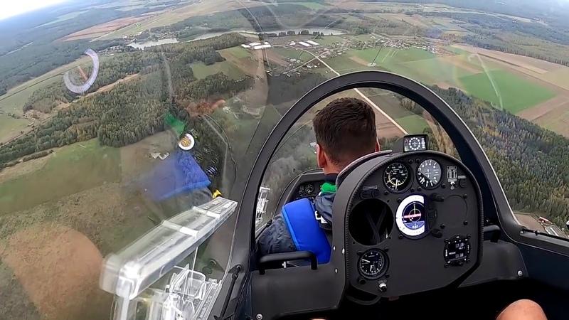 Учусь высшему пилотажу Проект 1 1000 Мечты Реактивный пилотажный планер ASK 21b JET