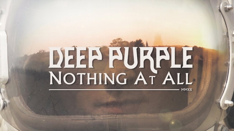 Deep Purple Nothing At All Official Music Video New album Whoosh out now