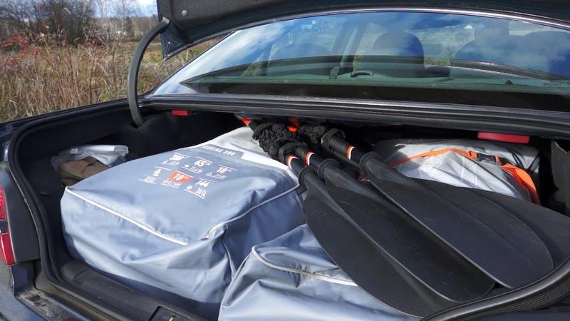 Про транспортировку Itiwit X500 Kayak когда жёсткий каяк совсем не пластиковый