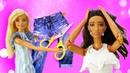 Видео для девочек. Барби и Тереза собрались в кино с Кеном. Куклы думают что же надеть Игры в куклы