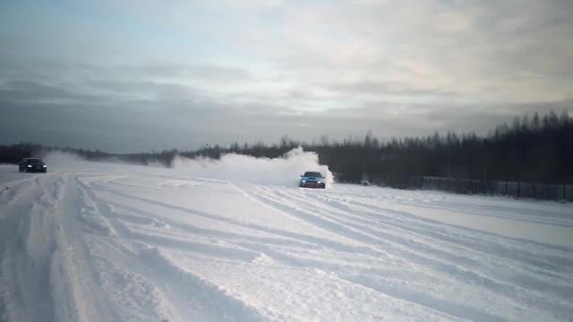 Subaru winter drift by Borsh Story · coub коуб
