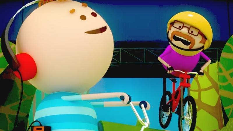 Аркадий Паровозов спешит на помощь Велосипедная прогулка Серия 134 Мультики детям