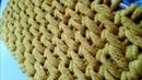Вяжем ковровый узор спицами🌻 knitting pattern.