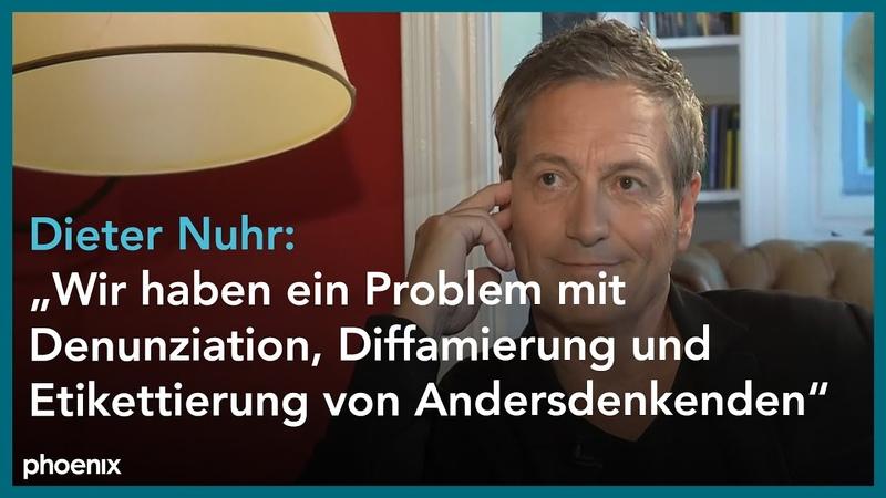 Phoenix persönlich Dieter Nuhr bei Alfred Schier