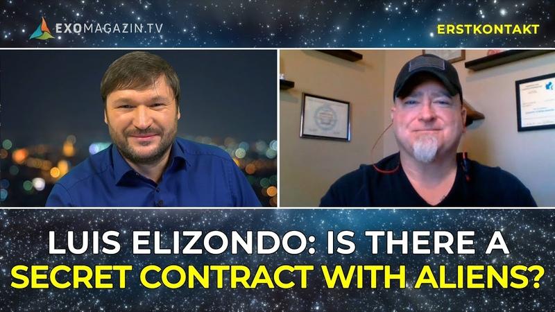 Gibt es einen geheimen Vertrag mit Aliens Fragen an Luis Elizondo Ex Leiter von AATIP im Pentagon
