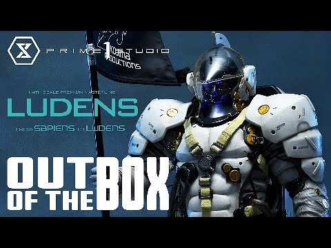 Out of the Box Ludens (Kojima Productions) Statue
