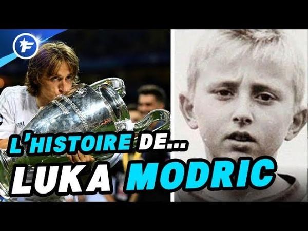 Le fabuleux destin de Luka Modric, lenfant réfugié devenu petit prince du Real Madrid
