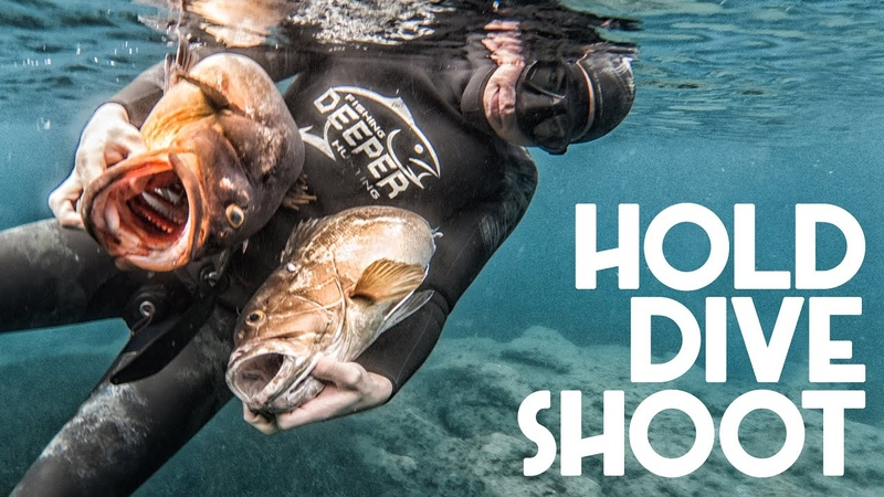 Deep Spearfishing Encyclo You Hold Dive Shoot Pt 6