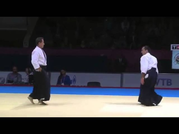 Demonstration Christian Tissier Shihan at the World Combat Games 2013
