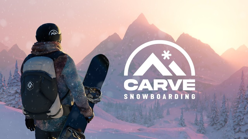 Carve Snowboarding Announcement Trailer Oculus Quest