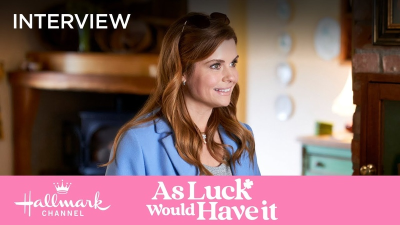 JoAnna Garcia Swisher Learns about Matchmaking Festival As Luck Would Have It Hallmark Channel