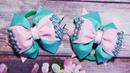 МК/DIY Красивые бантики из репсовой ленты/ Beautiful ribbon bows/ Мастер класс канзаши