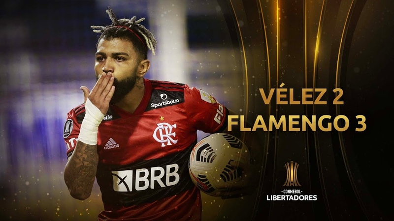 Vélez vs. Flamengo [2-3]   RESUMEN   Fecha 1 - Fase de Grupos   CONMEBOL Libertadores 2021