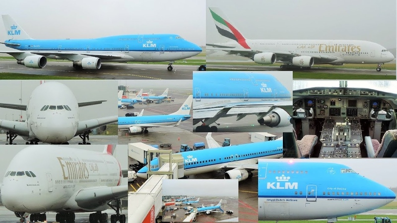 Plane Spotting at Amsterdam Schiphol Airport