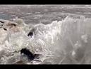 Очевидцы сняли ледяное цунами около Елабуги в Татарстане