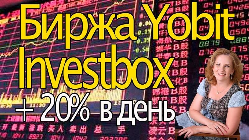 Биржа Yobit Investbox Как играть в DICE