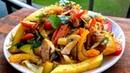 Как тушить овощи на сковороде. Овощи по-китайски. Как приготовить вкусный гарнир из овощей к рыбе.