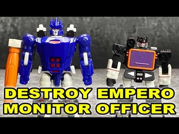 Dr Wu Destroy Empero Monitor Officer (Galvatron Soundblaster)