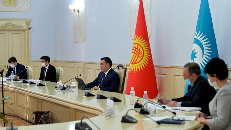 Жапаров отметил важность создания инвестиционного фонда стран Тюркского совета