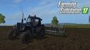 РП засеял поле на тракторе МТЗ 82 тубро!