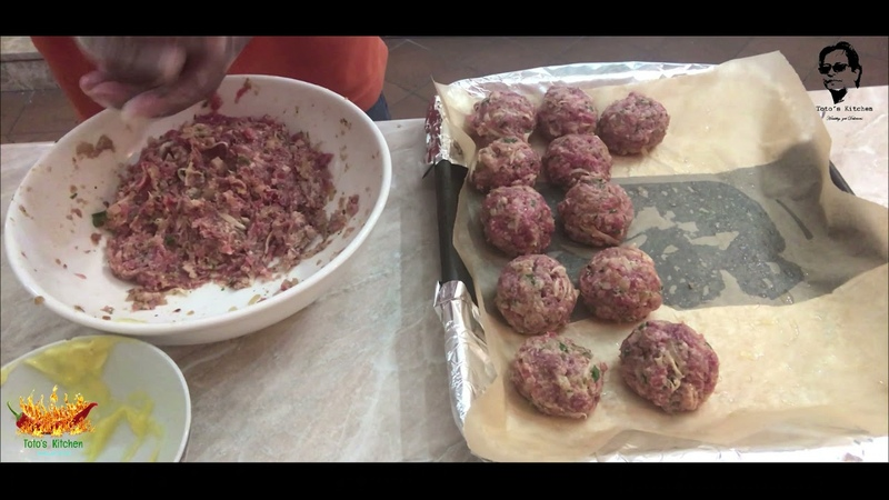 Gordon Ramsay Style Cheesy Meatballs Corned Beef Ball's Let's Try How To Prepare