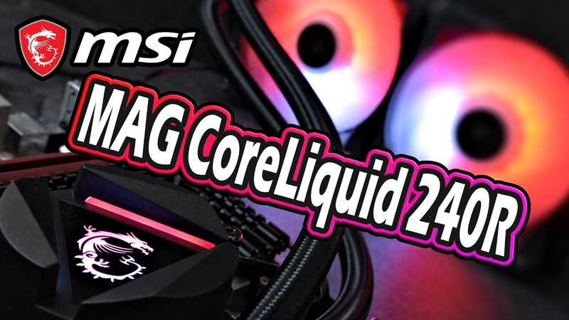 MSI MAG CoreLiquid 240R Test Klasse Wakü inklusive AC Valhalla 😲