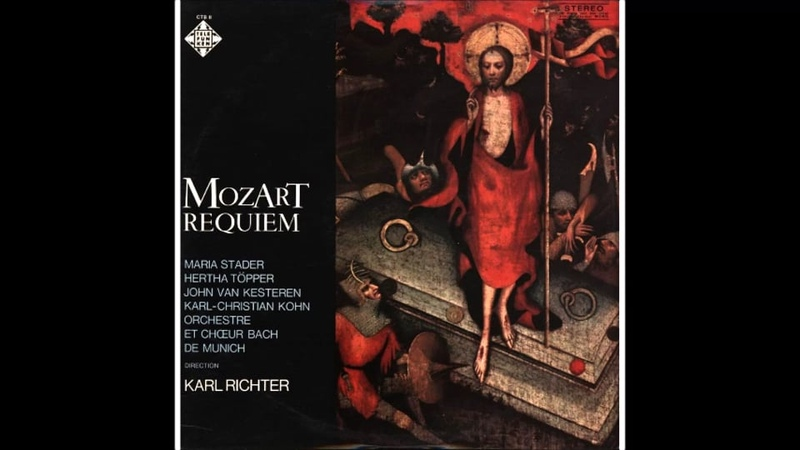 Mozart Requiem K 626 Karl Richter-Tuba mirum Karl-Christian Kohn on Vimeo