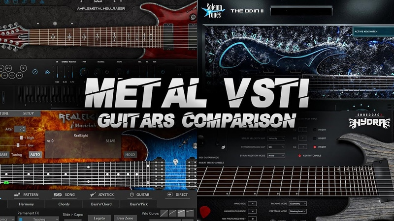 4 Metal VSTi Guitars Comparison