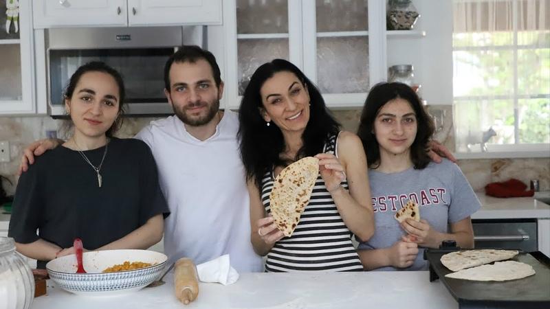 Համեղություն - Կարտոֆիլով Լցոնած Հաց - Heghineh Cooking Show in Armen