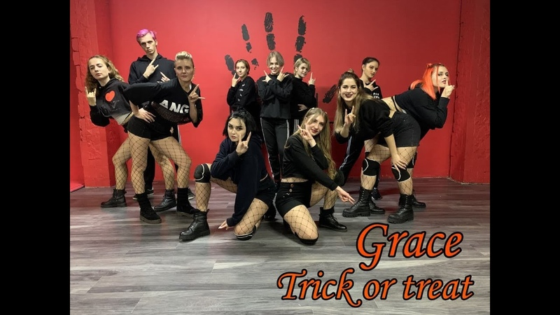 GRACE 그레이스 Trick Or Treat DANCE VER 안무영상 DANCE COVER BY S O 5 UKRAINE