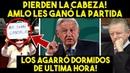 DE ULTIMA HORA! AMLO GANA LA PARTIDA Y OPOSICIÓN PIERDE LA CABEZA. NO LO PUEDEN CREER. MEXICO