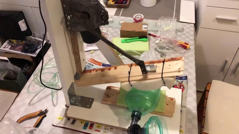 Prvi prototip - 5 Medicinski ventilator domače izdelave