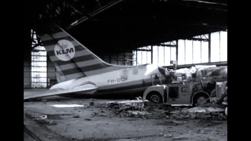 KLM Viasa Douglas DC 8 53 Explosion Amsterdam Schiphol 1968