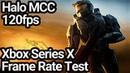 Halo Master Chief Collection Xbox Series X 120fps Frame Rate Test