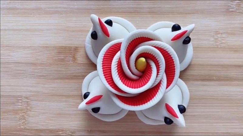 【创意面点】3款传统花馍、4款花样馒头做法 Creative food made with noodles can be done at home