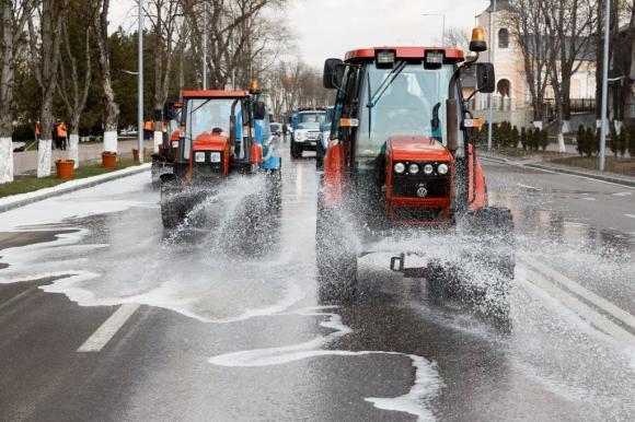 В Барнауле 11 апреля начнутся работы по дезинфекции улиц