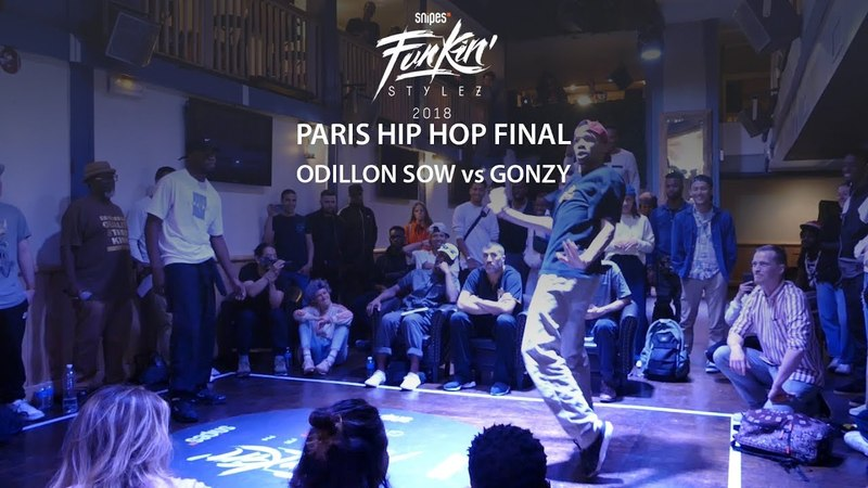 Funkin Stylez Paris preselections - Hip hop final Odillon Sow vs Gonzy | Danceproject.info