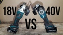 Makita 40v grinder Vs Makita 18v Grinder XGT vs LXT Makita GA005G XGT 40v Angle Grinder Review
