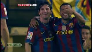 Season 2009 2010 Villarreal CF FC Barcelona 1 4 highlights