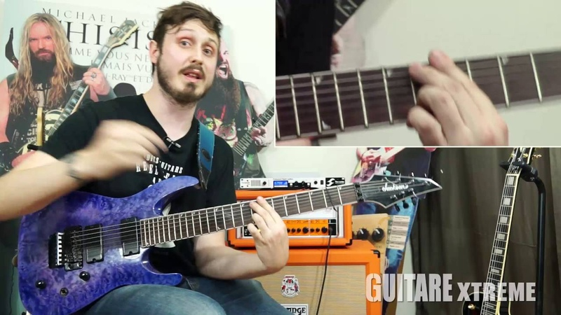 Guitare Xtreme Magazine 77 Pierre Danel shred licks with chromatisms