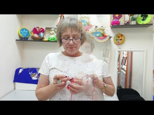 Видеоурок Хризантема в технике вязания крючком