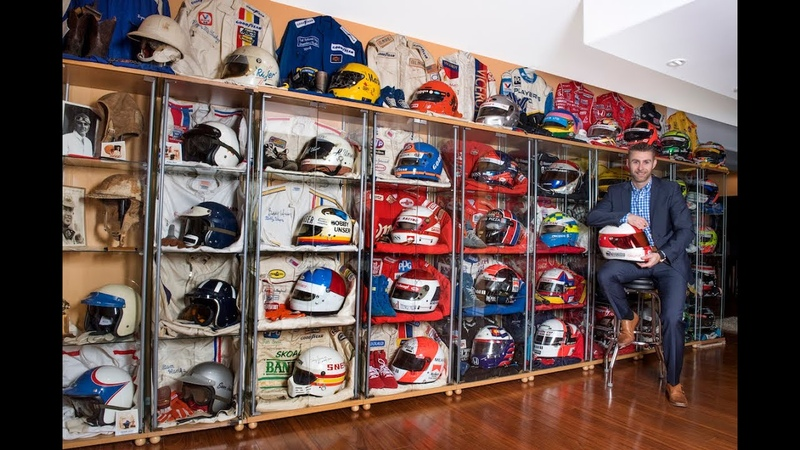 Behind The Visor The story of Darren L Jack's personal Hall of Fame Collection