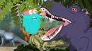 Шоу профессора Бинокса - Мифы о динозаврах - Обучающий мультфильм для детей