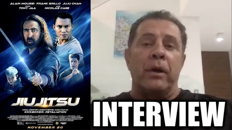 JIU JITSU Interview Dimitri Logothetis on Shooting Fight Sequences And 'Kickboxer Armageddon'