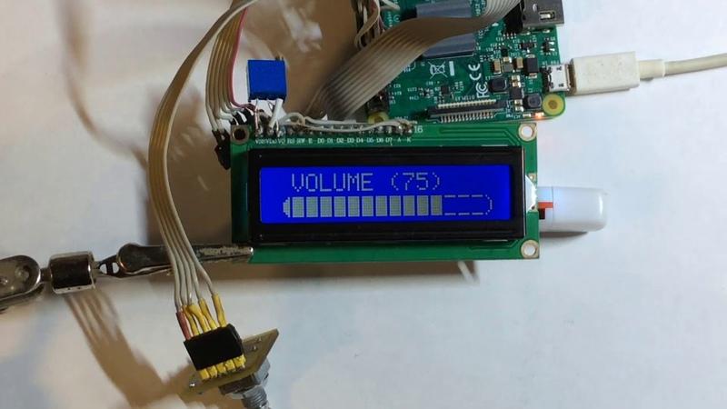 Подключение дисплея к Rasberry Pi с установленным сетевым проигрывателем Volumio