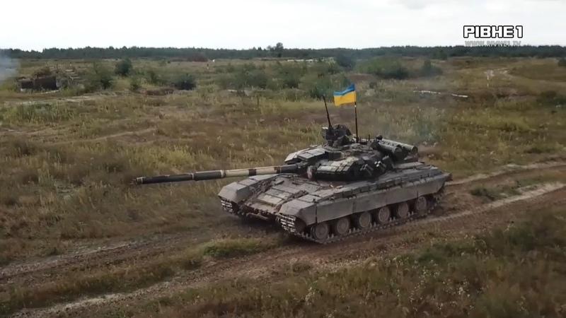 На Рівненському полігоні відбулися конкурсні змагання на кращий танковий взвод Збройних сил України