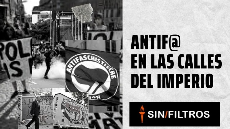 ANTIFA LA VERDAD DETRÁS DEL ANTIFAZ NEGRO LAS MOLÉCULAS ANÁRQUICAS
