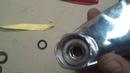 ремонт смесителя на ванну замена установочных гаек