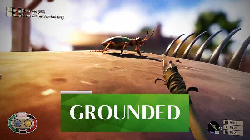 Grounded Дорогая я уменьшил детей Обзор игр Review Gameplay