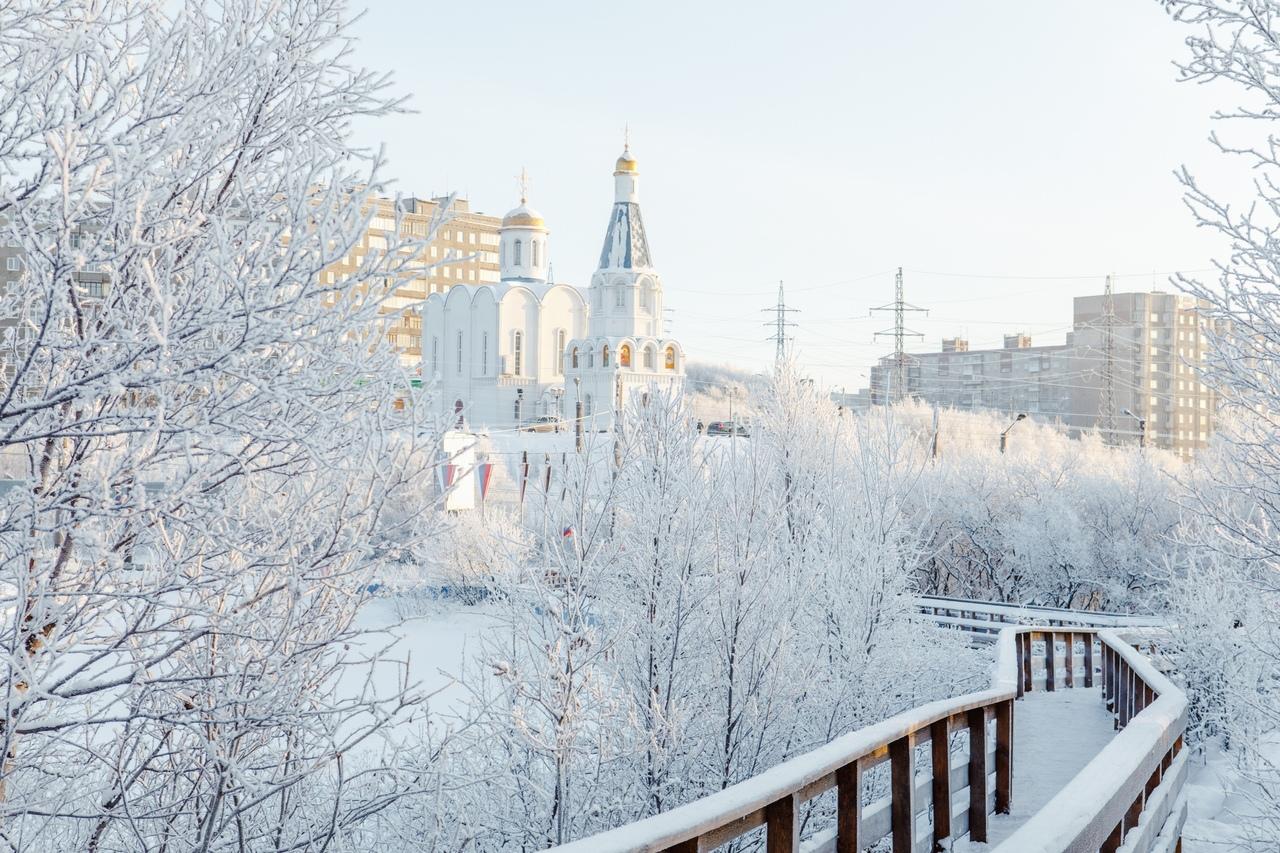 Зимние пейзажи Мурманской области, октябрь-ноябрь 2019